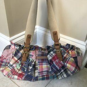 Tommy Hilfiger Bags - TOMMY HILFIGER madras Patchwork Plaid hand bag